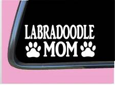 "LabraDoodle Mom Tp 961 vinyl 8"" Decal Sticker double doodle goldendoodle"