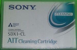 1 NEW SDX1-CL AIT1 AIT2 AIT3 CLEANIG TAPE 100%COMP WITH HP Q1996A Qty 60 Stock