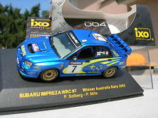 IXO models 1/43 RARE SUBARU IMPREZA WRC N°7 winner AUSTRALIE 2003 Solberg/Mills!