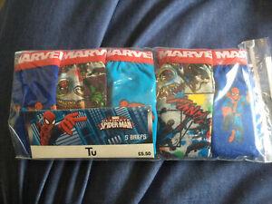 Boys Marvel Briefs 5-6