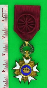 Belgium Order of the Crown Medal Officer Class