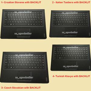 for Lenovo Yoga 4 Pro Yoga 900 900-13ISK 900-13ISK2 Keyboard CZ CR IT TR BACKLIT