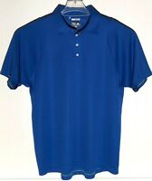Adidas Climacool Mens Size L Blue Short Sleeve Polo Golf Shirt