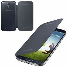 Genuine Samsung FLIP CASE Galaxy S4 GT i9505 original smartphone book cover BK