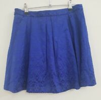 FOREVER NEW womens royal blue short skirt size 10 cocktails races #195
