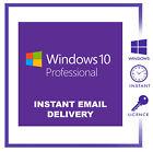 Windows 10 Pro edition 64/32 bit Genuine key Lifetime Activation license Promo!