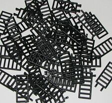 LEGO LOT OF 50 NEW BLACK LADDERS 7 X 3 BARS PIECES PARTS