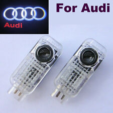 2 GHOST LOGO LASER PROJECTOR DOOR UNDER PUDDLE LIGHTS AUDI A1 A3 A4 A5 80 s3 rs4