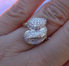 .58ct G/VS_SI2 micropave diamond right-hand ring 18k WG