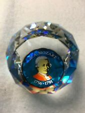Swarovski Paperweight - From Europe - Depiction of the Renown Mozart - Rare
