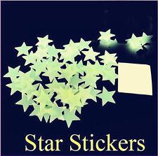 100PCS star wall sticker home star children room decoration # 1