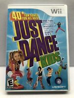 Just Dance Kids (Nintendo Wii, 2010), Complete, CIB, Tested - Free Ship