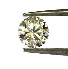 loose GIA 1.02ct round diamond SI2 K vintage estate 6.27 - 6.30 X 4.02mm antique