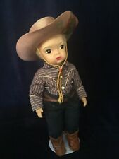 All Original Jerri Lee Cowboy, Platinum Caracul Wig