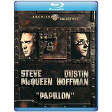 PAPILLON (1973) Blu Ray NEW Steve McQuen Dustin Hoffman NICE!