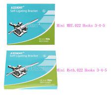 Ortho Dental Self Ligating Active Brackets Brace Mini Rothmbt022 Hooks 3 4 5