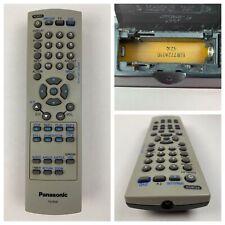 Panasonic EUR7724010 Original OEM Replacement Remote Control for TV/DVD