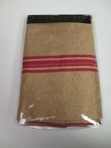 RARE Ralph Lauren Jardiniere Bertrand Red Striped King Pillowcases