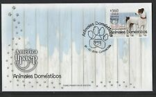 AMERICA-UPAEP-COVER-CHILE 2018-DOMESTIC ANIMALS-FDC-