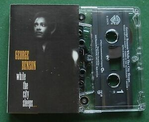 George Benson While The City Sleeps inc Shiver / Teaser + Cassette Tape - TESTED