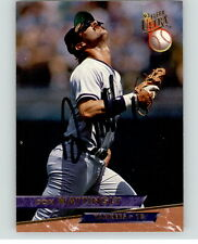Don Mattingly AUTOGRAPHED 1993 Fleer Ultra Card Yankees Guaranteed Authentic