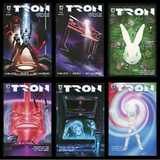 Tron Slave Labor Comic Set 1-2-3-4-5-6 Lot Legacy Inspired by Movie & Video Game