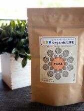 Organic STRESS RELIEF tea-Lemongrass, Hibiscus, Cinnamon, Peppermint, Cardamom