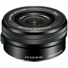 Sony SEL SEL-P1650 16-50mm F/3.5-5.6 IS Lens Black: White Box a6400 a6300 a6100