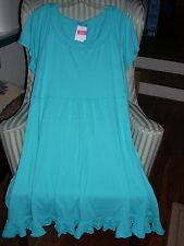 "NWT FRESH PRODUCE COTTON  S/S  ""SUNSHINE""  STYLE  DRESS IN LUNA ...(2X)"