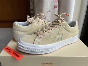 Converse x Footpatrol One Star Ox 7 FP 2017 40 25.5 jewel yellow beige suede all