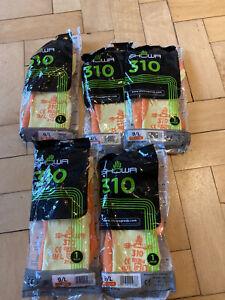 5 Pairs Showa 310 Work Gloves Size 9 Large Orange Free Post