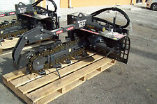 "Bradco 625 Skid Steer Trencher,Digs 36""Depth,6"" Dig Width,Two Position,In Stock"