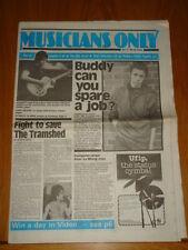 MUSICIANS ONLY 1980 JULY 12TH STEVE HACKETT