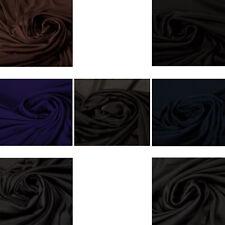 Polyester Interlock Fabric Clothing Upholstery Fashion Dress Crafts Shirts