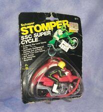 Schaper Stomper Ssc Super Cycle (Black Rider, Red Bike) 1981 *New Sealed*