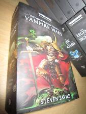 Steven Saville VAMPIRE WARS The Von Carstein Trilogy Pb MINT Warhammer Omnibus
