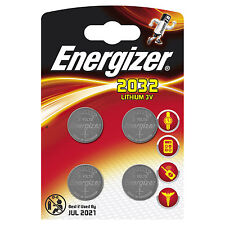 Energizer ECR2032BP4 3V Button Cell Lithium Battery - 4 Piece