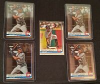 Lot of 5 2019 Topps Update OSCAR MERCADO VARIATION SP US28 rookie + chrome RCs