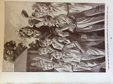 m17a1 ephemera 1920s book plate boys carry girl on their shoulders