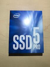 Intel SSD Pro 5400s Series 360GB M.2 SATA 6Gb/s 80mm 256bitAES - SSDSCKKF360H6X1