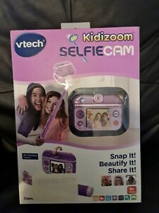 VTech 193703 Kidizoom Selfie Cam Toy - Purple - Fully Functional With Box
