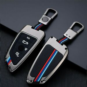 For BMW 2 3 5 6 7 Series M5 Zinc Alloy Smart Key Fob Case Shell Cover Protector