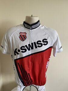 K-SWISS K Swiss SHORT SLEEVED SLEEVED CYCLING JERSEY Medium