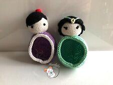 Tamagotchi P's iD L M!x Meets On Blue Jasmine Aladdin Crochet Cover Case (US)