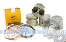 NEW 92-95 Honda Civic V-Tec 1.5 16V SOHC 1.5L D15Z1 Complete Pistons & Rings Set