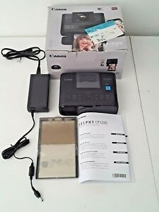 Canon SELPHY CP1200 Mobile Compact Color Photo Wi-Fi Printer in Black - 0599C001