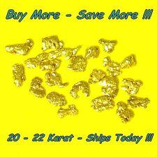 .235 Gram Alaskan Gold Nuggets Placer Flake Fines Real Alaska Natural 18k 20k