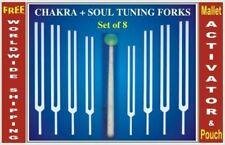 8 Chakras Tuning fork including soul purpose+ Activator HLS EHS