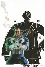 Michael Mike Zeck SIGNED The Punisher Marvel Comics Art Print