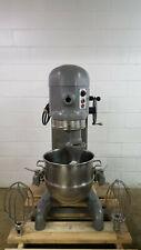 Hobart H-600 60 Qt Dough Mixer W/40 Qt bowl W/Reducer 208 Volts 3 Phase Tested